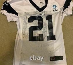 2020 Dallas Cowboys Game Issued Practice Jersey No. 21 Ezekiel Elliott