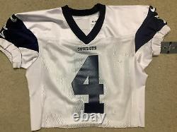 2020 Dallas Cowboys Game Issued Practice Jersey No. 4 Dak Prescott