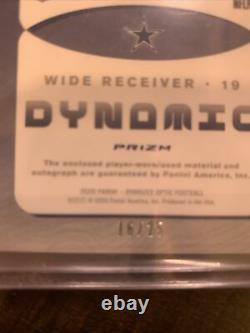 2020 Donruss Optic Cowboys Amari Cooper Dynamic 2 Color Game Worn Patch Auto /25