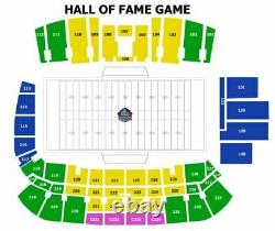 2021 Pro Football Hall of Fame game tickets, Dallas Cowboys, Pittsburgh Steelers