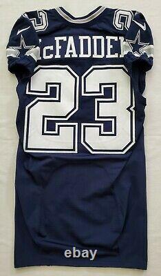 #23 Leon McFadden of Dallas Cowboys NFL Locker Room Game Issued Jersey