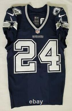 #24 Morris Claiborne of Dallas Cowboys NFL Locker Room Game Issued Jersey