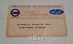 24 x 48 Game Used Dallas Cowboys Green Playing Field Turf Texas Stadium LAST 2