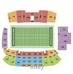 3 Game Tickets To The 2021 NFL Hall of Fame Game Cowboys vs Steelers
