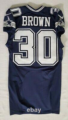 #30 Anthony Brown of Dallas Cowboys NFL Locker Room Game Issued Jersey