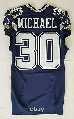 #30 Michael of Dallas Cowboys NFL Locker Room Game Issued Jersey