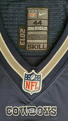 #4 With No Nameplate of Dallas Cowboys NFL Locker Room Game Issued Jersey