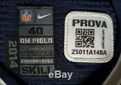 #5 Dan Bailey of Dallas Cowboys NFL Locker Room Game Issued Jersey
