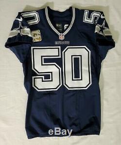 #50 Sean Lee of Dallas Cowboys NFL Locker Room Game Issued Jersey