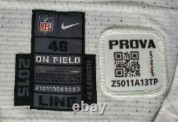 #58 Jack Crawford Dallas Cowboys Locker Room Game Issued Jersey w\ PRAVO Patch