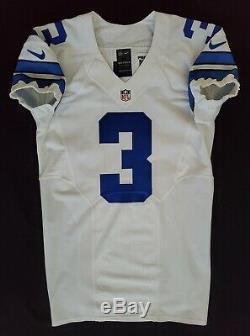 #6 Mark Sanchez of Dallas Cowboys NFL Locker Room Game Issued Jersey