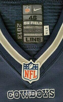 #65 Ronald Leary of Dallas Cowboys NFL Locker Room Game Used Jersey