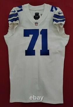 #71 La'el Collins of Cowboys NFL Locker Room Game Issued Jersey