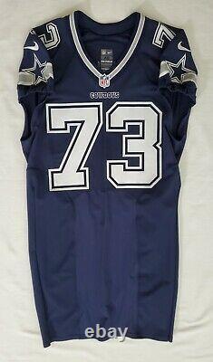 #73 Joe Looney of Dallas Cowboys NFL Locker Room Game Issued Jersey
