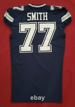 #77 Tyron Smith of Dallas Cowboys NFL Locker Room Game Issued Jersey