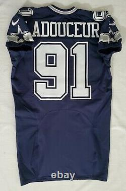 #91 L. P. Ladouceur of Dallas Cowboys NFL Locker Room Game Issued Jersey