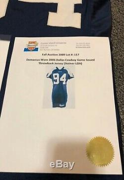 #94 DeMarcus Ware of Dallas Cowboys Game Worn Jersey w\ PROVA Patch