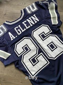 Aaron Glenn Dallas Cowboys Game Worn Jersey NFL Used Photo Matched Reebok Pro