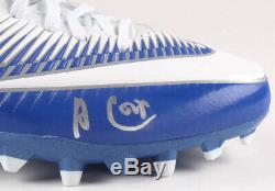 Amari Cooper Signed Cowboys GAME ISSUED Nike Vapor Speed Cleat (Beckett COA)