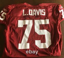 Arizona Cardinals Game Issued Jersey Leonard Davis NFL Dallas Cowboys
