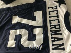 Authenticated 2005 STEPHEN PETERMAN DALLAS COWBOYS NFL FOOTBALL GAME WORN JERSEY
