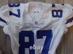 BILLY DAVIS 1997 Dallas Cowboys NIKE Game Used Jersey GAMER America's Team