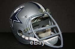BOB LILLY Dallas Cowboys CUSTOM Game Suspension Vintage Football Helmet NEW