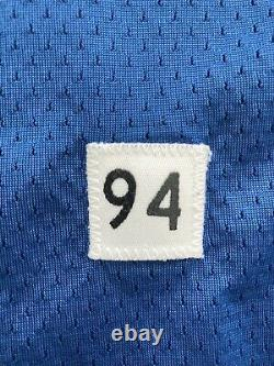 Billy Davis Dallas Cowboys Apex Authentic Game-Worn Double-Star Blue Jersey