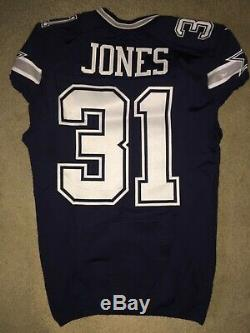 Byron Jones Dallas Cowboys game used jersey