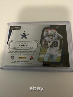 Ceedee Lamb 2021 Certified Piece Of The Game Autograph Nasty Glove Patch 1/5