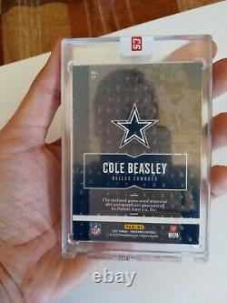 Cole Beasley Game Used Patch Auto 1/10 Ebay 1 of 1 Cowboys