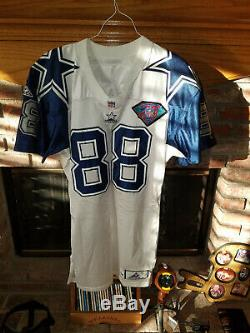 DALLAS COWBOYS MICHAEL IRVIN DOUBLE STAR GAME WORN GAME USED JERSEY With LETTER