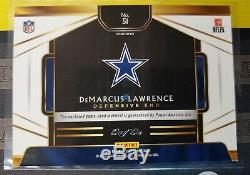 DEMARCUS LAWRENCE 1/1 Game Used 2018 SELECT PRIZM 7 Card Lot Rainbow