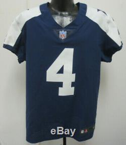 Dak Prescott Dallas Cowboys Nike Elite Authentic $325 Game Jersey Sz 44 Pro Shop