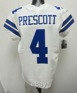 Dak Prescott Dallas Cowboys Nike Elite Authentic $325 Game Jersey Sz 52 Pro Shop