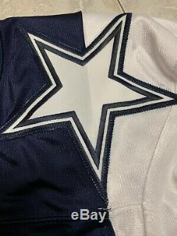 Dallas Cowboys #19 Flowers Autographed Double Star Game Issued Jersey Size 44