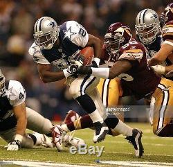 Dallas Cowboys 2002 Thanksgiving Game Used Football Emmitt Smith