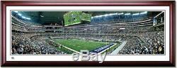 Dallas Cowboys AT&T Stadium Inaugural Game Framed Panoramic Poster
