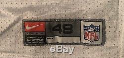 Dallas Cowboys Alonzo Spellman game Worn 2000 jersey with Tom Landry patch
