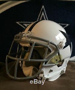 Dallas Cowboys Barry Church game used helmet. Steiner COA
