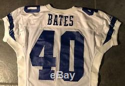Dallas Cowboys Bill Bates Vintage 1993 Game Issue Apex Jersey