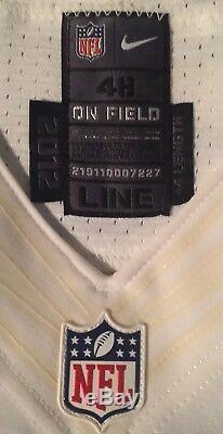 Dallas Cowboys Caleb McSurdy Game Worn Jersey Size 48-Line +4 inches 2012 season