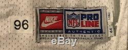 Dallas Cowboys Chris Boniol Nike Game Issued Jersey sz 44 Long SB Champ