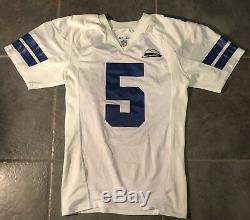 Dallas Cowboys Clint Stoerner game Worn 2000 jersey with Tom Landry patch Nike