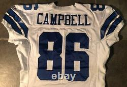 Dallas Cowboys Dan Campbell Game Worn jersey 2005 Stitched Reebok Provagroup