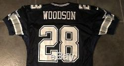 Dallas Cowboys Darren Woodson 1996 Nike game issued Jersey 48 Long Stretch Slee
