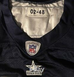 Dallas Cowboys Darren Woodson Autographed Game Issued 2002 Reebok Jersey 48L