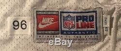 Dallas Cowboys Daryl Johnston Game Issued 1996 Nike Jersey sz 48 long SB Champ