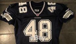 Dallas Cowboys Daryl Johnston Game Issued 1998 Nike Jersey sz 50 long SB Champ
