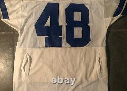 Dallas Cowboys Daryl Johnston Game Worn 1990 Vintage Russell jersey Withpockets
